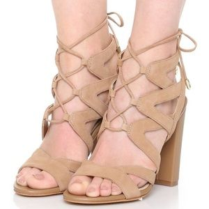 Sam Edelman Yardley Lace-Up Heel Sandal